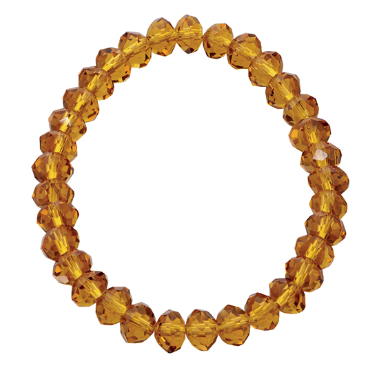Basics Beaded Bracelet - Golden Yellow