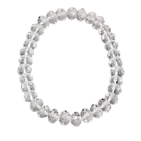 Basics beaded Bracelet - Clear