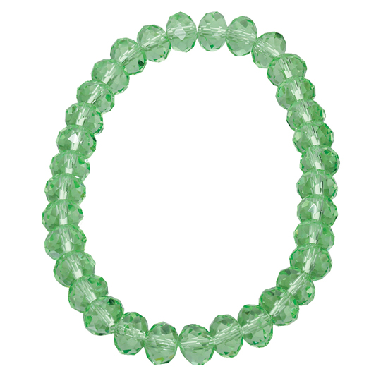 Basics Beaded Bracelet - Light Green