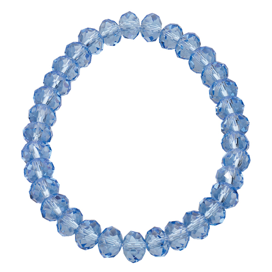 Basics Beaded Bracelet - Sky Blue