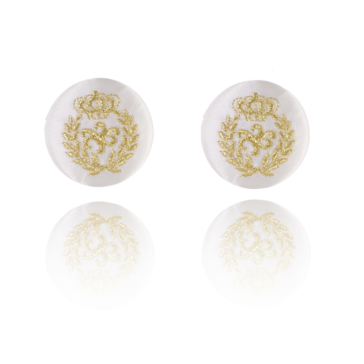 De Mulieribus Claris Queen Of The Oceans Button Clip On Earrings