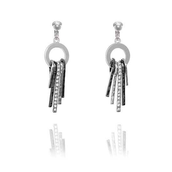 Fiorelli Ring Hung Drop Clip On Earrings