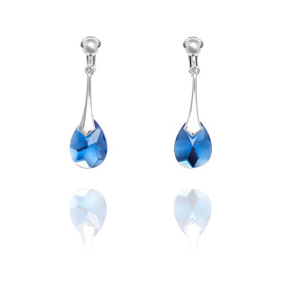 ercl rh 123 rodney holman blue drop clip on earrings jpg