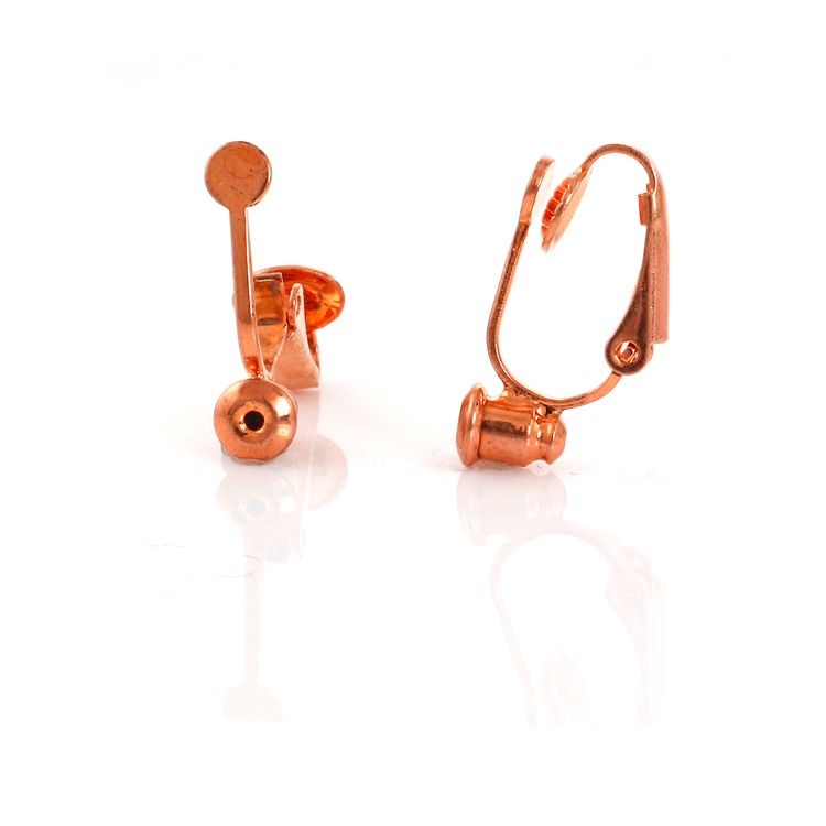 44baff3d5 No Bend Earring Converters - Rose Gold 3 Pairs