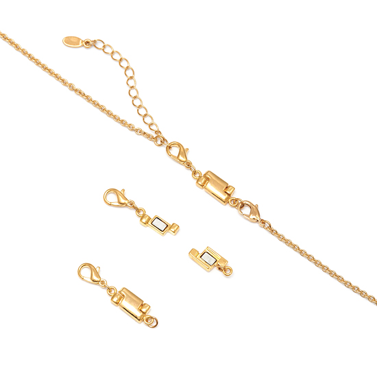 Hercules Magnetic Necklace Clasp - Gold