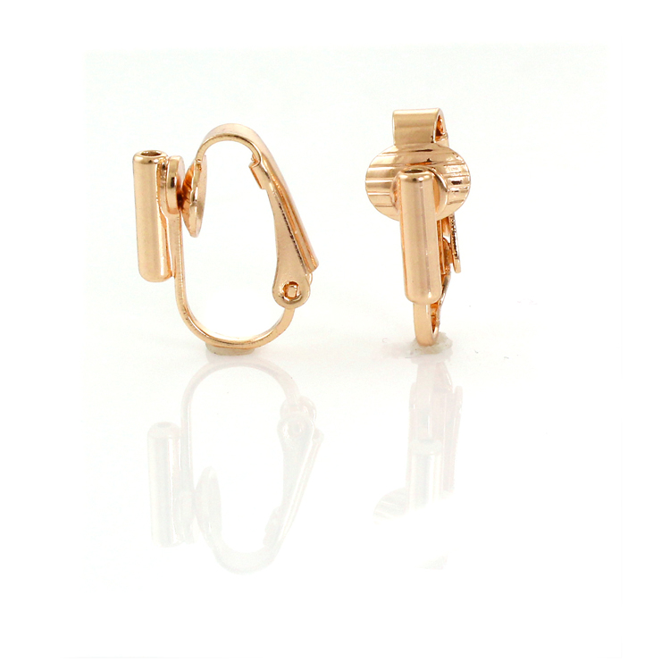 Clip On Earrings Converter Posts Gold 1 Pair