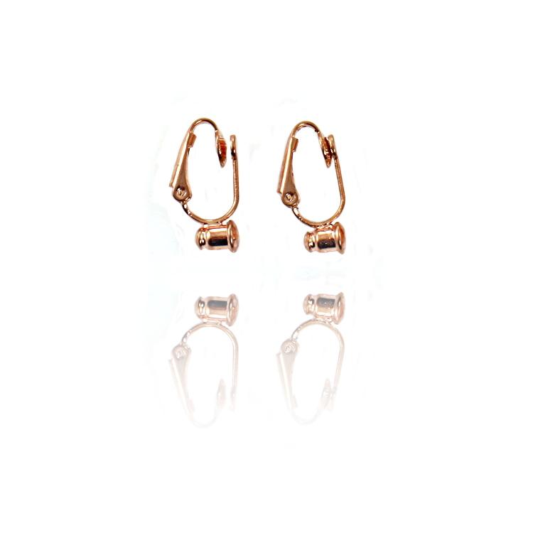 54eee8e99 No Bend Earring Converters - Golden Gold 1 Pair