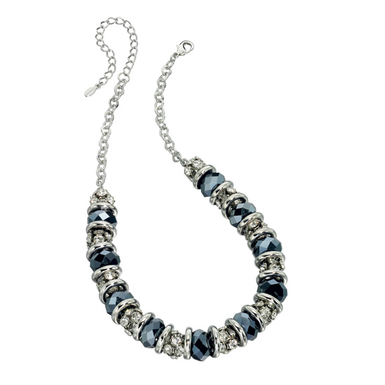 Fiorelli Midnight Blue Crystal Showstopper Necklace