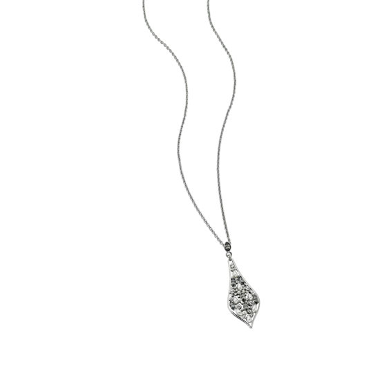 Fiorelli Pointed Teardrop Shape Embellished Necklace