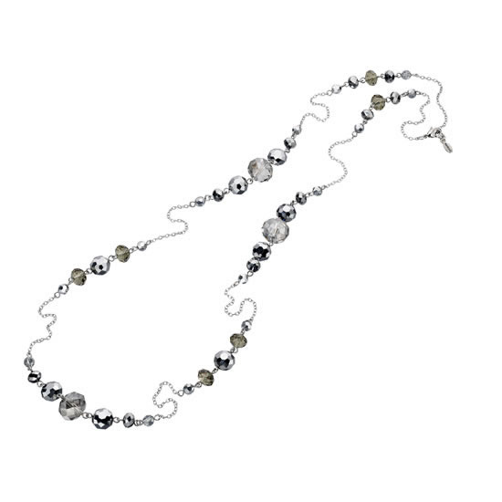 Fiorelli Silver Beaded Necklace