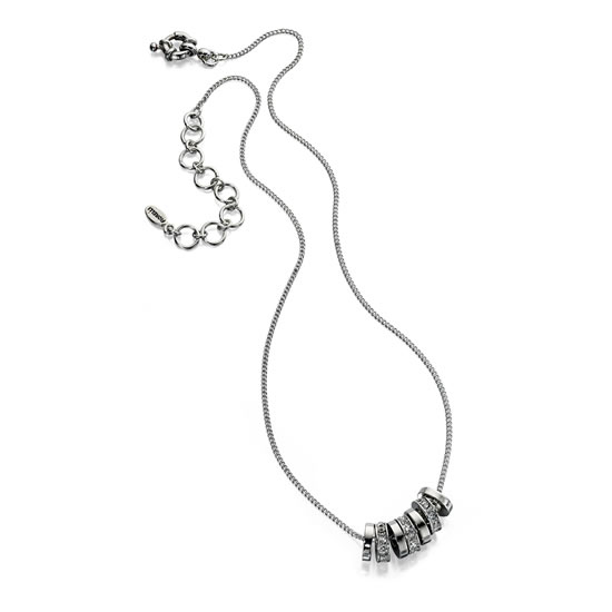 Fiorelli Silver Ring Necklace