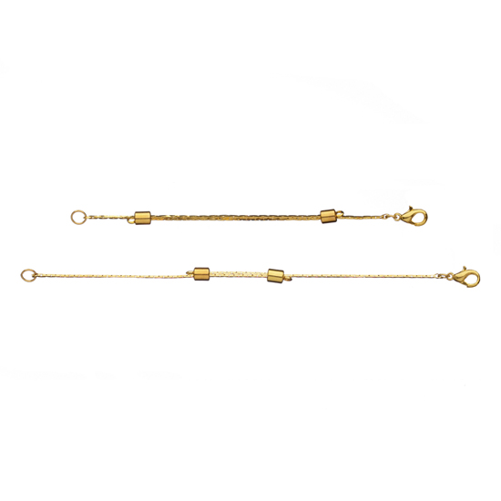 7cm to 14.5cm Necklace Extender - Gold