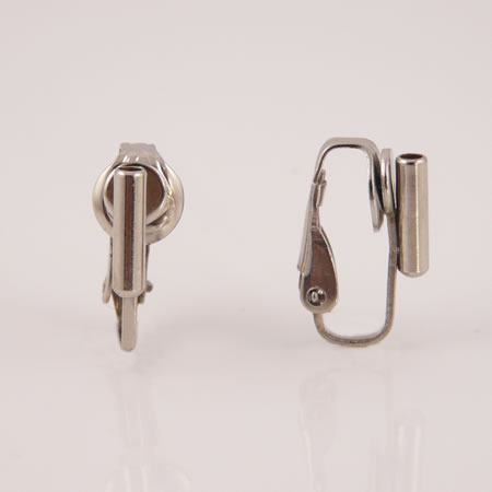 Clip On Earrings Converter Posts Silver 3 Pairs